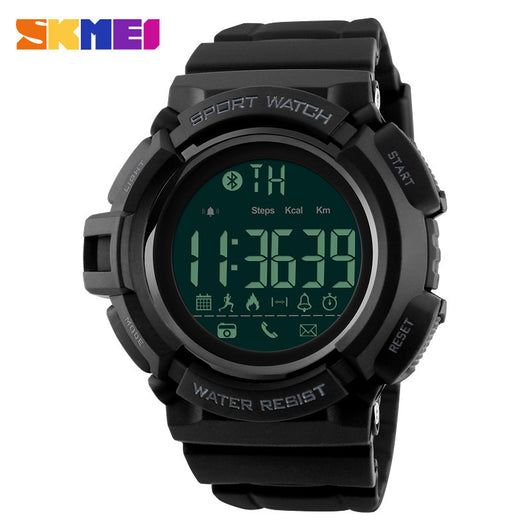 SKMEI 1245 Men Digital Wristwatches Pedometer Fitness Tracker Clock Calorie Smart Watch Relogio Masculino Fashion Sports Watches