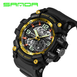 2017 Military Sport Watch Men Top Brand Luxury Famous Electronic LED Digital Wrist Watch Male Clock For Man Relogio Masculino-ASTROSHADEZ.COM-black gold-ASTROSHADEZ.COM