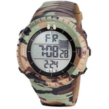 OTS 2017 New Digital Watch Men Sports Watches LED Military Army Camouflage Wrist Watch For Boy Waterproof Top Brand Man Watches
