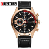 CURREN Mens Watches Top Brand Luxury Quartz-watch business Men Quartz Casual male Sport Watches Gold Watch Men relogio masculino
