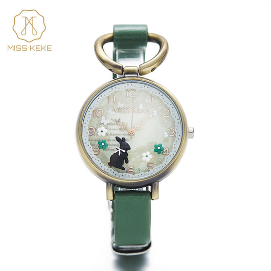 Relojes Mujer 2016 Miss Keke 3d Mini World Clay Cute Kids Women Bracelet Watches Ladies Fashion Alice Forest Wristwatches 882-ASTROSHADEZ.COM-ASTROSHADEZ.COM