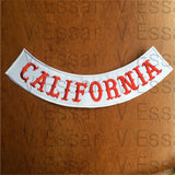 Hells angels CALIFORNIA Embroidery Twill Biker Sew Iron On Patches Jacket Vest-ASTROSHADEZ.COM-ASTROSHADEZ.COM