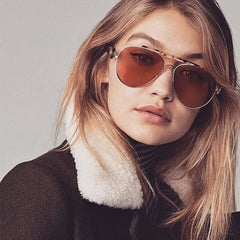 Womens 'French' Oversized Aviator Style Sunglasses Astroshadez-ASTROSHADEZ.COM-ASTROSHADEZ.COM