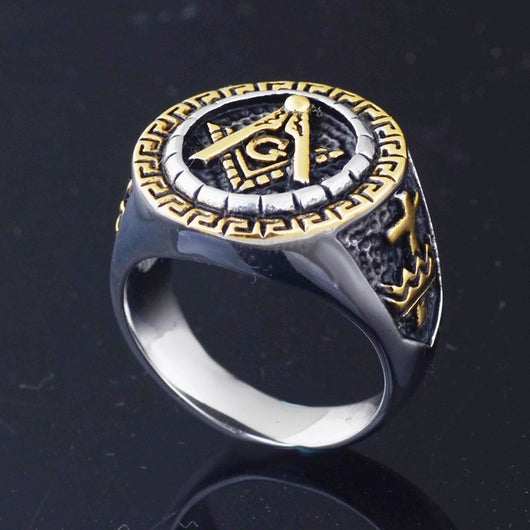 MENS MASONIC FREEMASON MASTER MASON RING 15-ASTROSHADEZ.COM-7-gold and silver-ASTROSHADEZ.COM