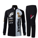 YAIBA X Fishing Shirt Pants Set Mosquito UV UPF Protection Summer Outdoor Sportswear-ASTROSHADEZ.COM-Black-XL-ASTROSHADEZ.COM