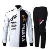 YAIBA X Fishing Shirt Pants Set Mosquito UV UPF Protection Summer Outdoor Sportswear-ASTROSHADEZ.COM-White-XL-ASTROSHADEZ.COM