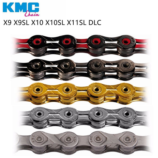 Kmc Z99 X10EL X10.93 X11EL Extra Light double X chain 9 10 11 speed mtb road bike bicycle chain titanium gold silver color-ASTROSHADEZ.COM-ASTROSHADEZ.COM