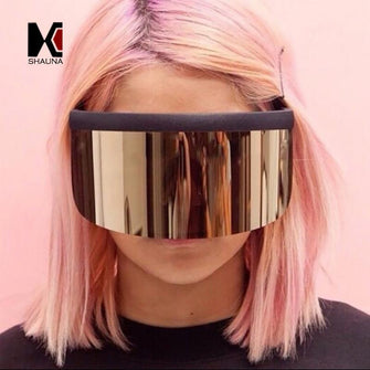 Unisex 'F*CK YOU' Face Shield Hater Blocker Sunglasses Astroshadez-ASTROSHADEZ.COM-ASTROSHADEZ.COM
