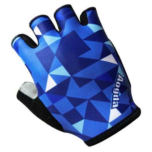 Aogda Blue Pro Team Cycling Bicycling Gloves-ASTROSHADEZ.COM-01-S-ASTROSHADEZ.COM