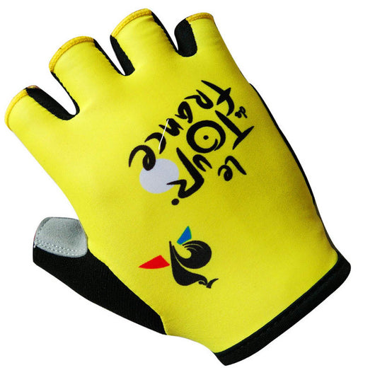 France Tour Pro Team Cycling Bicycling Gloves-ASTROSHADEZ.COM-12-S-ASTROSHADEZ.COM