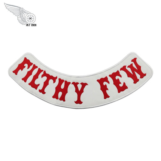 FILTHY FEW HA Angels MC Biker Patch Set Iron On Vest Jacket Rocker-MC Patch Store-ASTROSHADEZ.COM