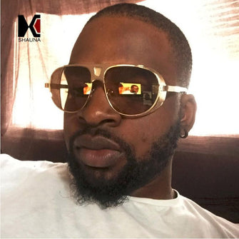 Men's 'D-Wade' Large Alloy Side Shield Sunglasses Astroshadez-ASTROSHADEZ.COM-ASTROSHADEZ.COM