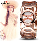 WEIQIN Brand Magic Luxury Rose Gold watch Full stainless steel woman Fashion OL Lady Commercial Watches Relogio Feminino-ASTROSHADEZ.COM-ASTROSHADEZ.COM