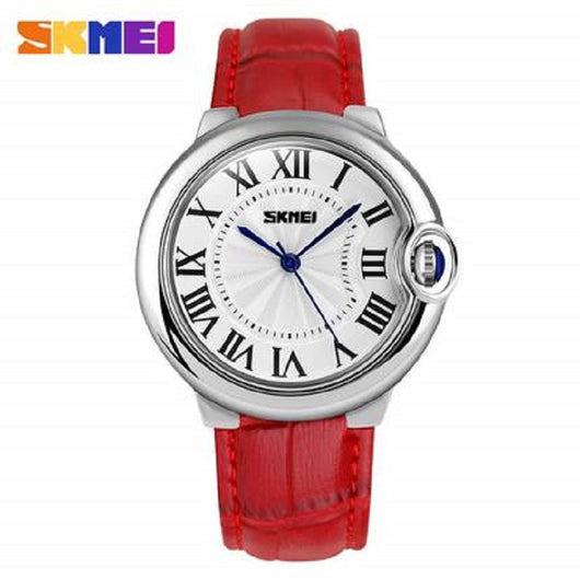 SKMEI Brand Luxury High quality Quartz Leather Wrist Bracelet Fashion Women Watch Ladies Wristwatch relojes mujer montre femme-ASTROSHADEZ.COM-ASTROSHADEZ.COM