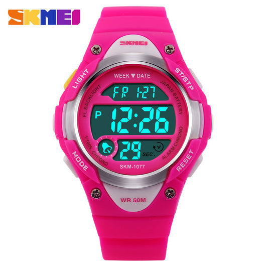 SKMEI Children Watches Cute Kids Watches Sports Cartoon Watch for Girls boys Rubber Children's Digital LED Wristwatches Reloj-ASTROSHADEZ.COM-ASTROSHADEZ.COM