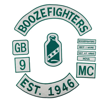 Boozefighters 1946 Patch MC Nova Patch Iron Motorocycle-ASTROSHADEZ.COM-ASTROSHADEZ.COM