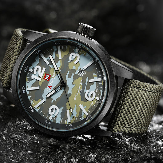 2016 New Luxury Top Brand NAVIFORCE Men Army Military Watches Mens Sports Quartz Clock Waterproof Wrist Watch Relogio Masculino-ASTROSHADEZ.COM-ASTROSHADEZ.COM