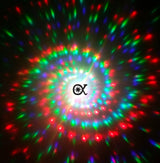 White Flip Diffraction Glasses (Spiral Available)Spiral Diffraction