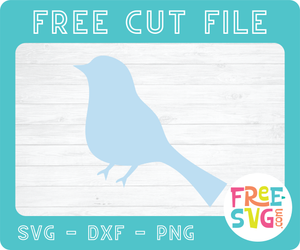 BIRD - FREE SVG CUT FILE