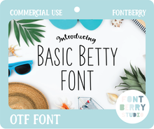 Load image into Gallery viewer, BASIC BETTY FONT