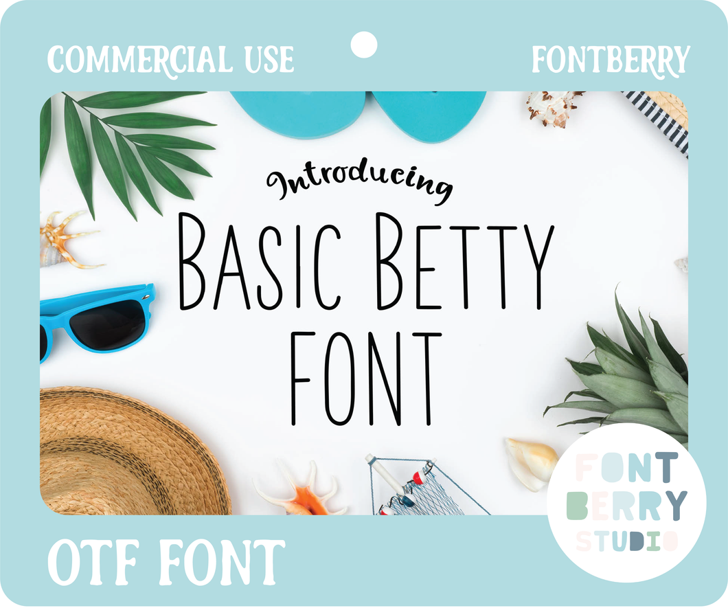 BASIC BETTY FONT