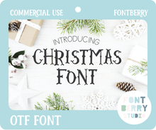 Load image into Gallery viewer, CHRISTMAS FONT