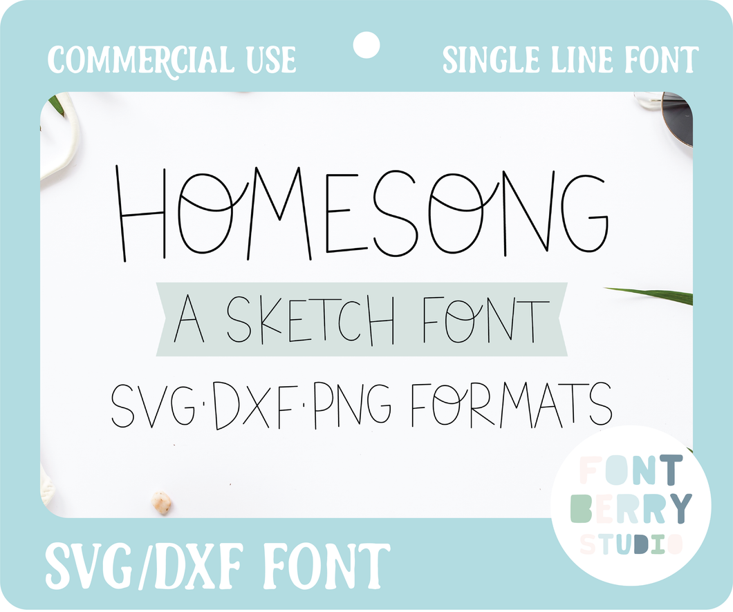 HOMESONG SKETCH FONT