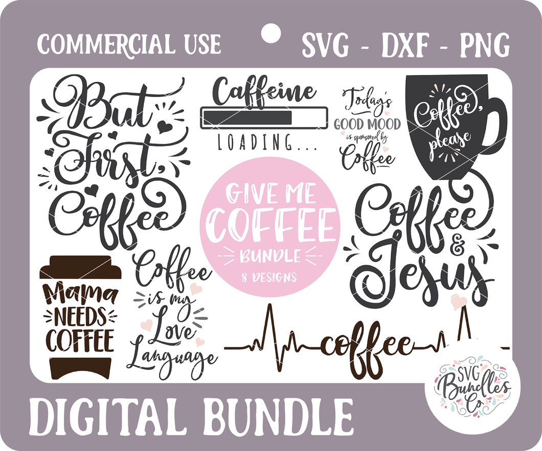 GIVE ME COFFEE BUNDLE
