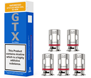 VAPORESSO GTX REPLACEMENT COILS