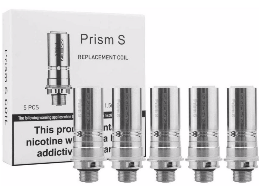 Innokin Endura T20S Prism S Replacement Coils - 0.8/1.5 Ohms - cometovape