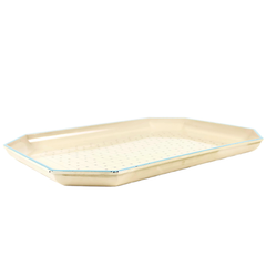Retro Melamine Serving Tray, Vintage Woodwards Merchandise