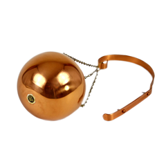 Coppercraft Guild Hanging Kettle Bowl Planter