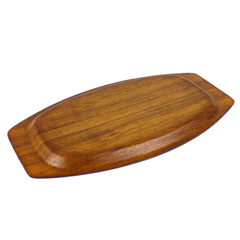 Kalmar Teak Wood Serving Tray, Medium Size, Mid Century Modern Vintage