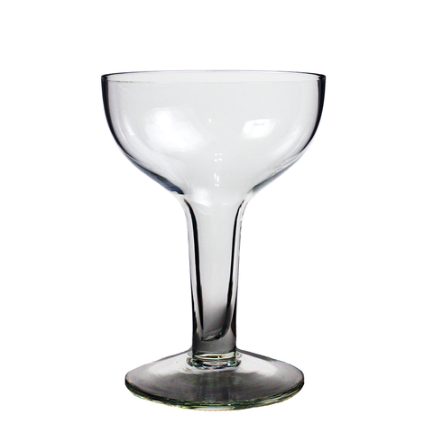 Set/3 Hollow Stem Champagne Coupes, Saucer Bowl Cocktail Glasses