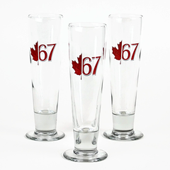 Beer Glasses, Centennial Year, Libbey