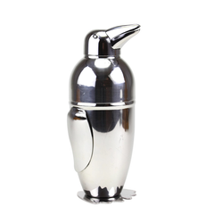 Napier Inspired Penguin Cocktail Shaker, Cobbler Style