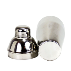 Cobbler Style Cocktail Shaker. Stainless.