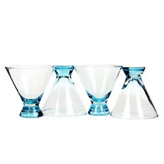 Vintage martini glasses available at Audrey Would!