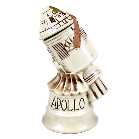 Apollo Capsule Decanter, Collectible McCoy Pottery, Space Age Memorabilia