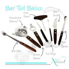 Collectible vintage bar tools available at Audrey Would!