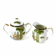 Ritz China Coffee Set, Hand Painted