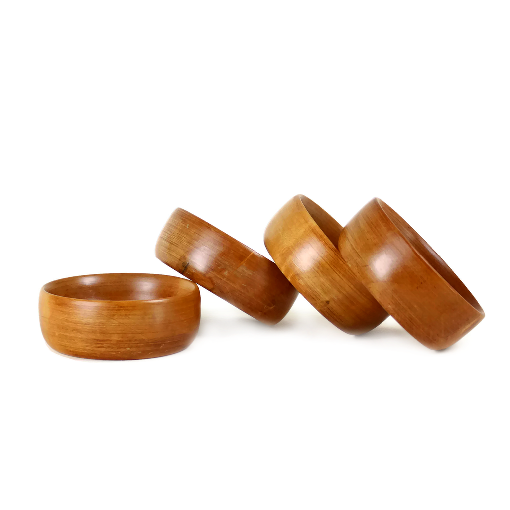 Baribocraft Wooden Side Bowls, Maple