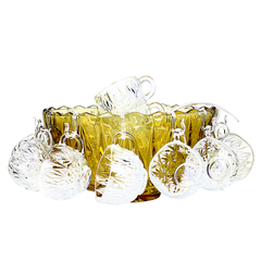 Vintage Punch Bowl Set - 'Golden Anniversary' - Special Edition