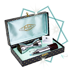 Collectible Glo-Hill Barmates Drink Mixer and Jigger Gift Set at Audrey Would! Vintage Home.