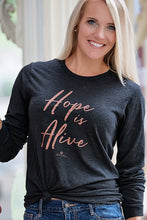 Load image into Gallery viewer, Hope Is Alive Long Sleeve Tee