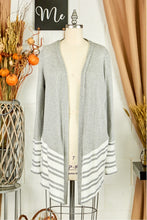 Load image into Gallery viewer, Hannah Mixed Media Cardigan