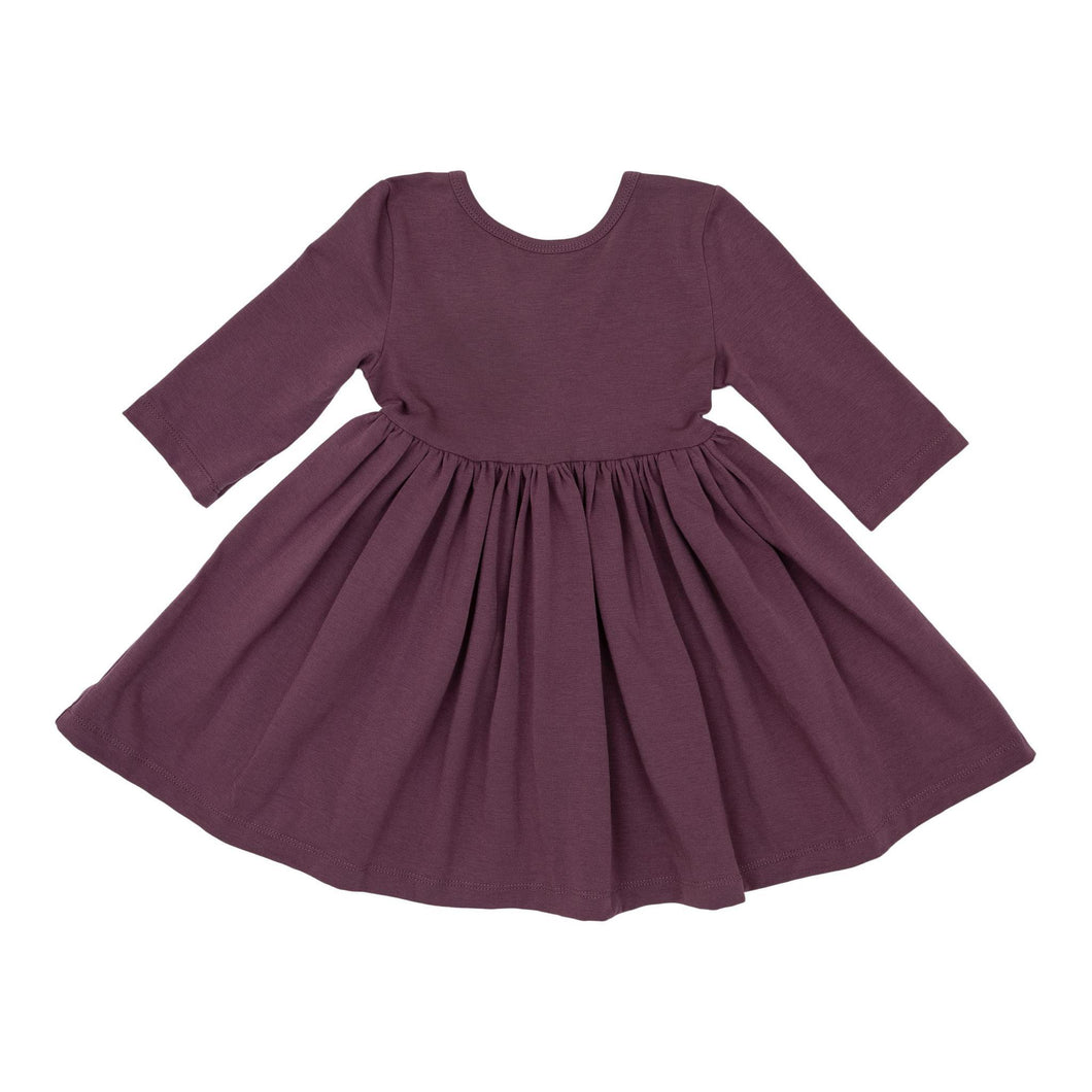 Vintage Violet Twirl Dress