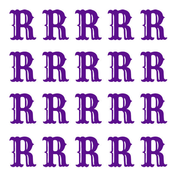 ID4 Cactus Small Purple Letter R