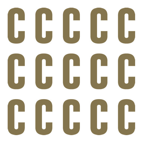 ID4 Euro Large Gold Letter C