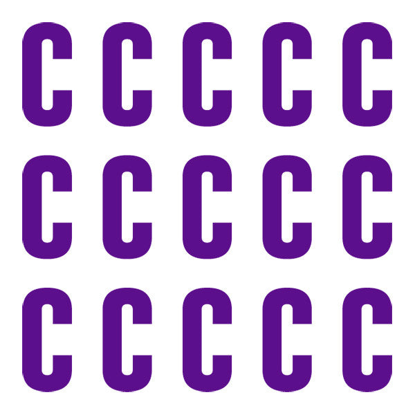 ID4 Euro Large Purple Letter C